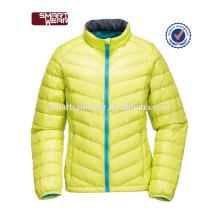 Оптовая нейлоновые куртки-Бомберы зима легкий вес женщины прокладывая куртку