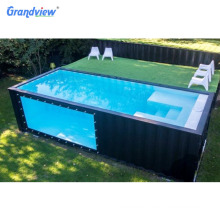 large size outdoor swimming pool for new design 20 ft container