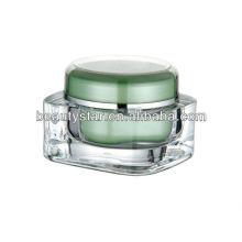 15g 30g 50g 75g 125g acrílico creme recipiente acrílico cosmético frasco vazio