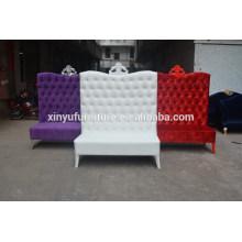 Hotel lobby decoration high back chair XYN2473                                                                         Quality Choice