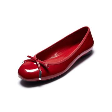 Zapatos planos ocasionales de la PU, zapatos de mujer