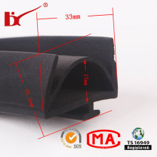 Oil Resistant EPDM Auto Sealing Rubber Strip with Professional Design