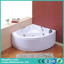 Hot Acrylic One Person Corner Bathtub com massagem (TLP-636 controle pneumático)