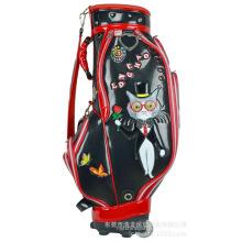 Bolsa de golf bolsa trolley bolsa plástica ligera para aviación