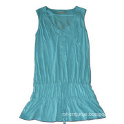 Casual Dress, Made of 100% Full Comb Cotton