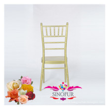 fancy wedding furniture aluminium banquet chair