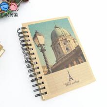 Feito em China Office Supply Cheap Spiral A5 Notebooks em estoque