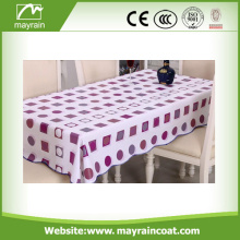 Peso Adequado PVC / PEVA Thick Table Clothes