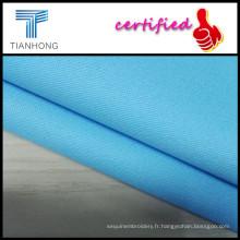 97Cotton 3Spandex tissu/Classic teinture bleu Spandex mince tissus sergés pour Lady/2015 chaud-vente Jeans tissu