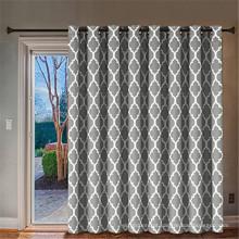 Porta de vidro deslizante - Cortina superior da porta do pátio em Glommet