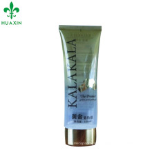 guangzhou huaxin plastic flat oval bb cream oval cosmetic tube for sale