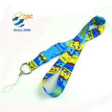 High Quality Id Badge Sublimation Lanyard Retractable