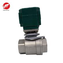 Robinet d'arrêt d'eau électrique à haute résistance pour l'irrigation, la plomberie
