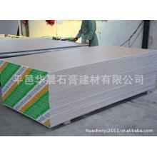 Placoplâtre imperméable / plaque de plâtre ignifuge / plaque de plâtre décorative