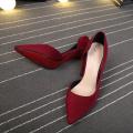 2019 острым носом на высоком каблуке Женская обувь