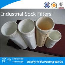 Filtros de calcetines industriales de energía para el desempolvado