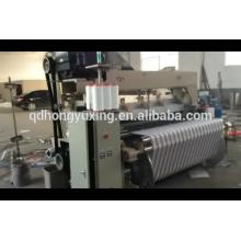 Telar de chorro de aire de alta velocidad con alimentador Roj y máquina de tejer dobby / algodón / máquina de telar mecánico Staubli