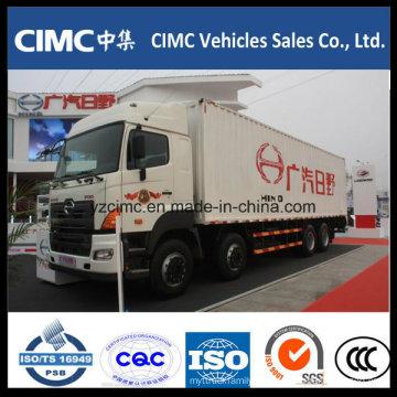 Camión camión / caja Hino 8X4 350HP
