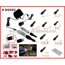 2015 venda quente alta qualidade Professional sobrancelha permanente kit de maquiagem kit suíço