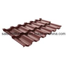 Станок для производства стальных плит из цветной стали