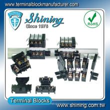 TD-015 600V 15 Amp Speaker Conector de bloco de terminais de camada dupla