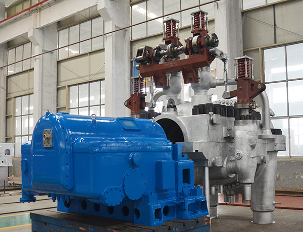 Back Pressure Type Steam Turbine