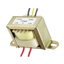 Transformador EI 1.2W 5V 9V 12V Baja frecuencia