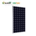 Blueusn 340w 350w 360w Paneles solares fotovoltaicos 5BB Negro Mono precio del panel solar