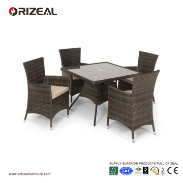 Outdoor Rattan 4-Seater Square Dining Set OZ-OR060