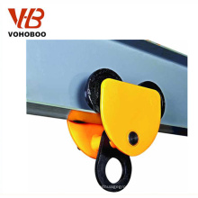 2T Manual Trolley Hand Trolley For Lifting Hoist Winches