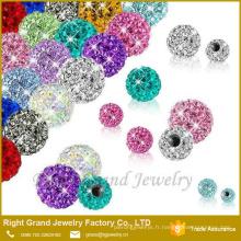 Pièces de bijoux de corps de 3mm 4mm 5mm pour la boule de cristal d'anneau de ventre de Labret