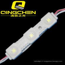 CE et RoHS Waterproof LED Light Module 5050 Injection 3 SMD LED Module pour Signes Channel Letter