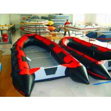 Schwarze und rote Farbe 0.9mm PVC-Boots-gute Qualitätsboote für Woking