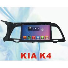 Sistema Android coche DVD Bluetooth para KIA K4 9inch con GPS de coche