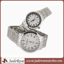 Unisex Best Gifts Promotional Wrist Alloy Strap Watch Alloy Couple Watch
