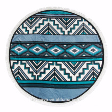 Popular Bohemia style Round beach towel Mandala BT-491 China Supplier