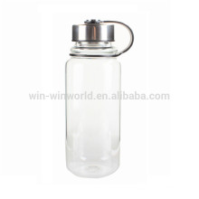 Wholesale Hand Blown Borosilicate Pyrex Glass Drinking Water Bottle 1L