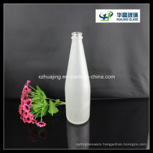 1000ml Bulk Frosted Soft Drinking Glass Bottle with Crown Cap