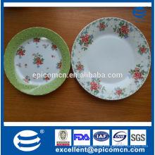 Beliebte Polen Keramik-Snack-Platten, feines Porzellan 2 Stufen Kuchen stehen