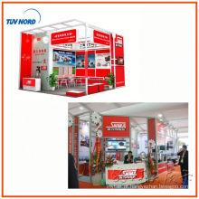 Cabine de fotos de Xangai exibem design para exibição de exposição com construção de estande