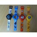 Le plastique de vente chaude de petite taille figure la montre en plastique drôle artificielle pour le souvenir d'enfants