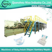 Professional Semi-Servo Machines Making Adult Diaper with CE (CNK250-HSV)