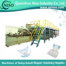 Máquinas Semi-Servo Profissionais Fazendo Fralda para Adultos com CE (CNK250-HSV)