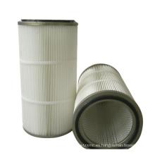 Cartucho de filtro de aire personalizado utilizado en colectores de polvo en la industria de trabajo de madera