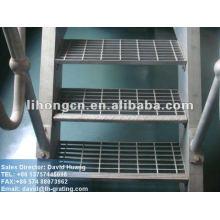 Barandilla de metal industrial galvanizada