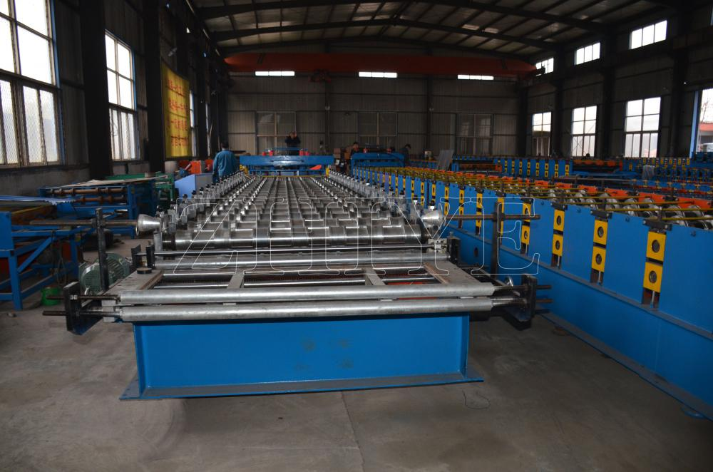 PPGI ZhiYe Glazed Tiles Production Line