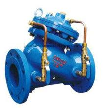 Soupape de commande multifonctionnelle de pompe à eau de type de piston de Ds101X / 201X
