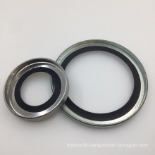 40*55*8 PTFE Lip Seal With Stainless Steel Ring For Compressors Pumps