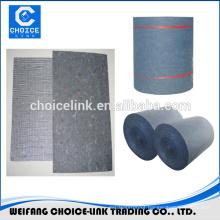 Compound base with fiberglass for bitumen membrane