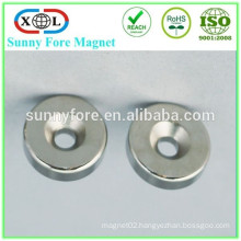round magnet with screw hole
